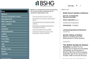 British Society for Human Genetics
