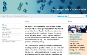 Human Genetic Commision